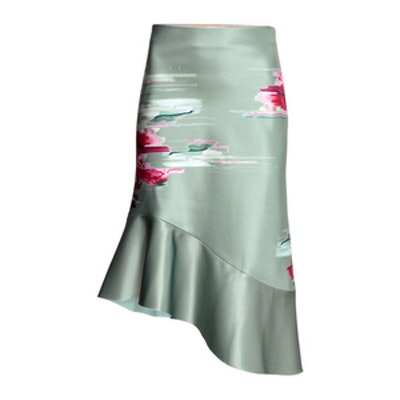Bonded Silk Skirt