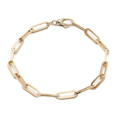 Small Long Link Anklet