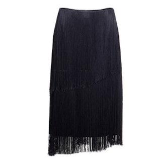 Double Fringe Skirt