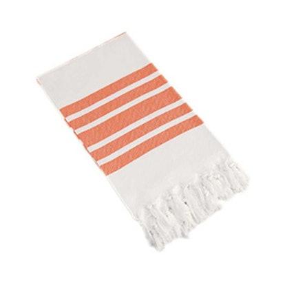 Herringbone Striped Turkish Pestemal Towel