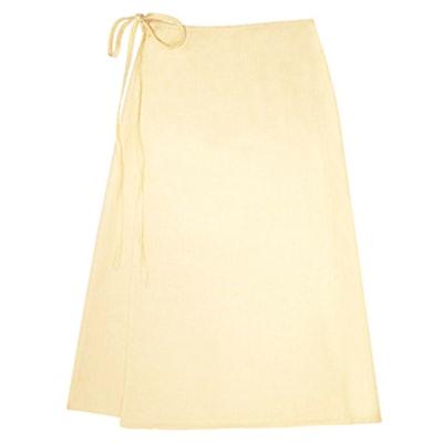Capri Linen Wrap Skirt
