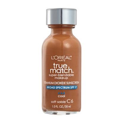True Match Super-Blendable Liquid Makeup SPF 17