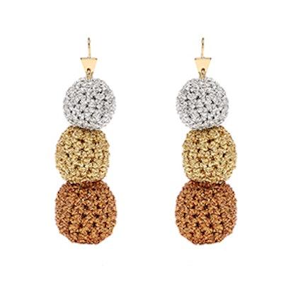 Rock Steady Crochet Earrings