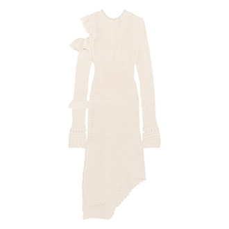 Concordia Cutout Crocheted Cotton-Blend Dress