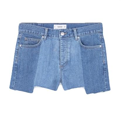 Medium Wash Denim Shorts