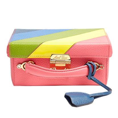 Grace Small Grained-Leather Box Bag