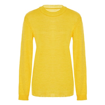 Fine Tricot Knit Sweater