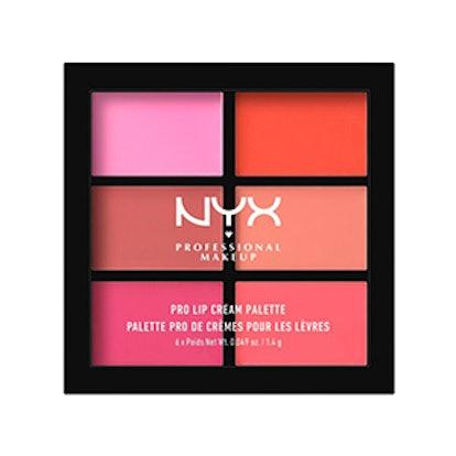 Pro Lip Cream Palette – The Pinks