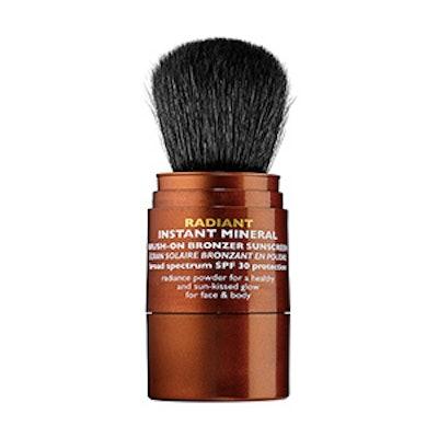 Radiant Instant Mineral Brush-On Bronzer Sunscreen SPF 30