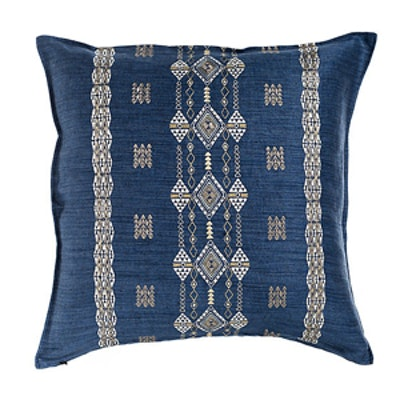 Berber Indigo 20×20 Linen Pillow