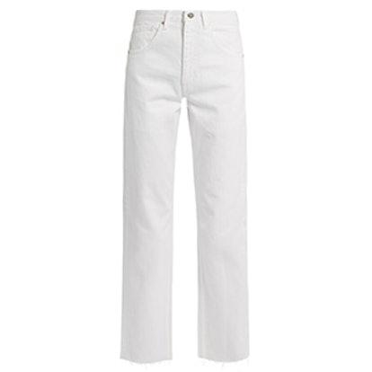 Press Straight-Leg Jeans