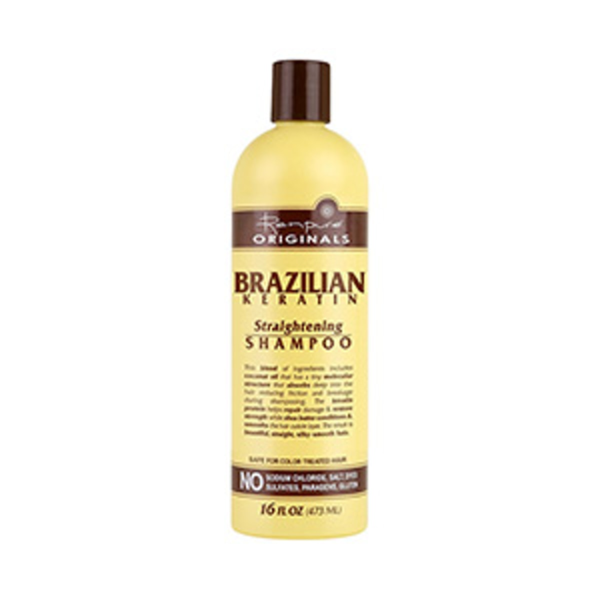 Brazilian Keratin Straightening Shampoo
