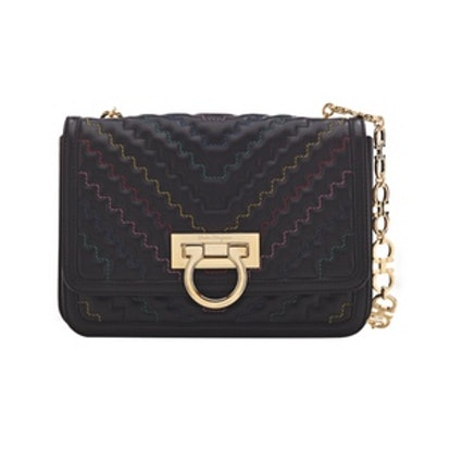 Zigzag Flap Bag