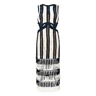 Crochet Cut-Out Dress