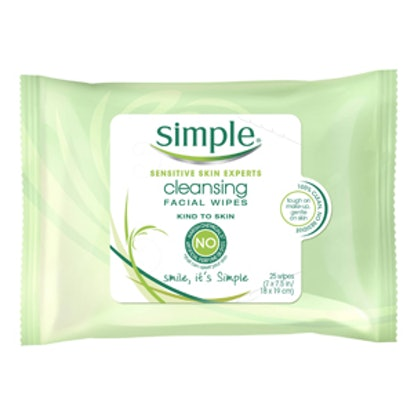 Simple Kind to Skin Cleansing Facial Wipes