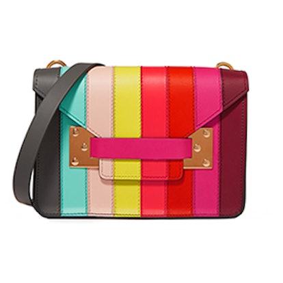 Milner Mini Paneled-Leather Shoulder Bag