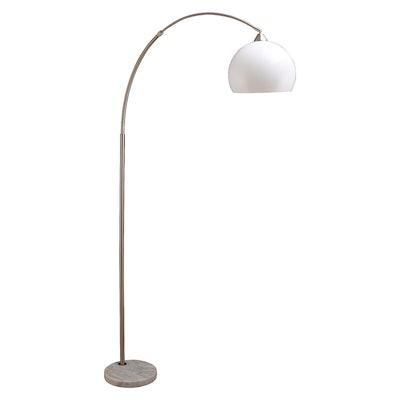 Modern Floor Lamp on Marble Base