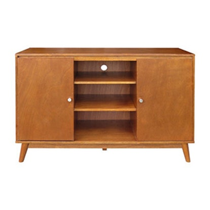 Porter Mid Century Modern Large Accent Cabinet