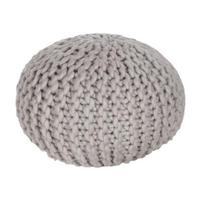 Surya Wool Sphere Pouf