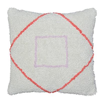 Threshold Loop Pile Throw Pillow