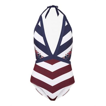 Daina Rowing Stripe Swimsuit