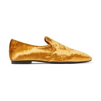 Alys Velvet Loafers