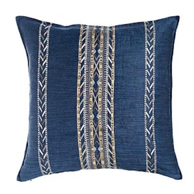 Hali Indigo 20×20 Linen Pillow