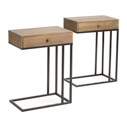 Set of 2 C-Tables