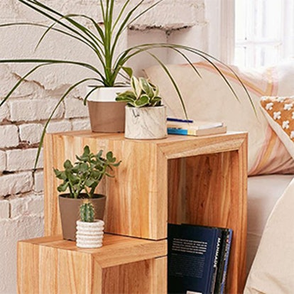 Swing Out Side Table