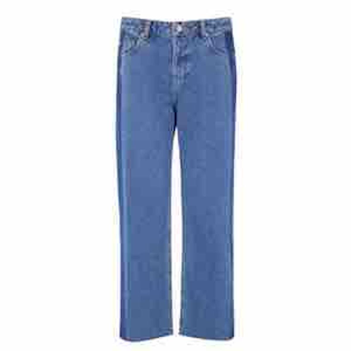 Blocked Jeans