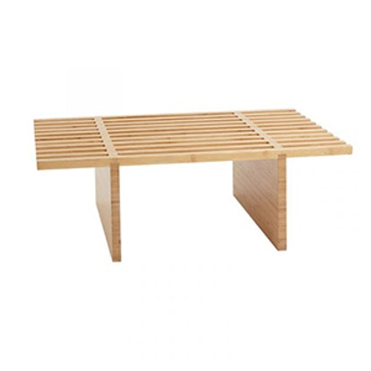 Table With Wooden Bars