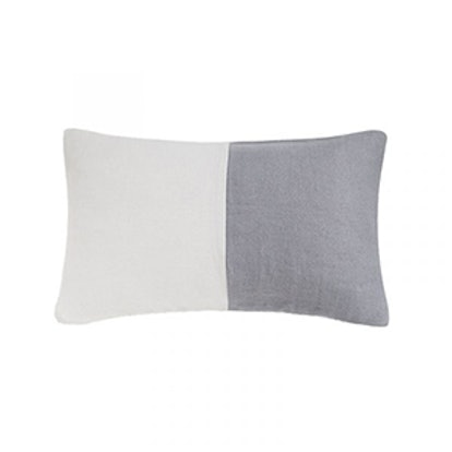 Two Color Linen Cushion Cover