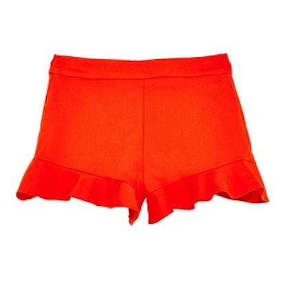 High Waist Frilled Shorts