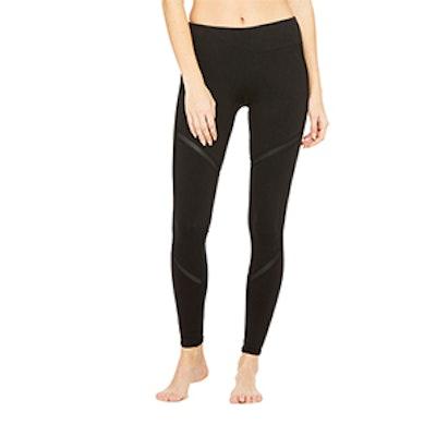 Talia Legging In Black/Black Glossy