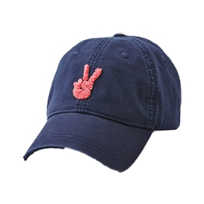 Embroidered Graphic Baseball Cap