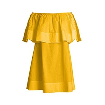 Piper Petal Off-The-Shoulder Dress