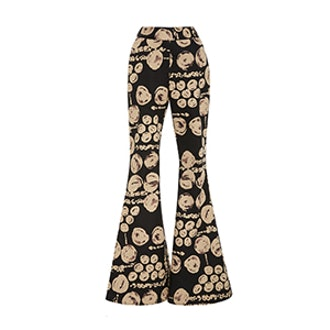 Printed Flare Cyrus Trouser