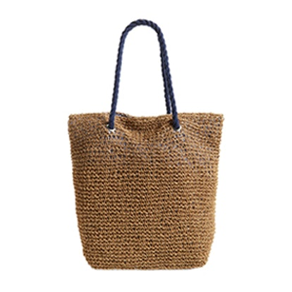 Rope & Straw Tote