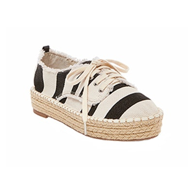 Roxie Canvas Lace Up Espadrille Sneakers