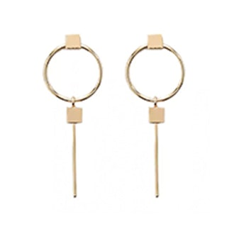 O-Ring Drop Earrings