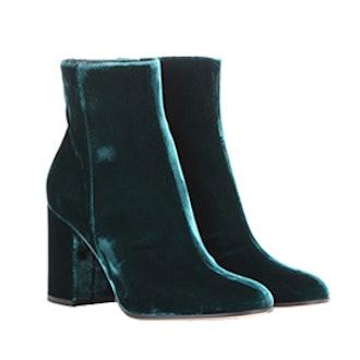 Rolling 85 Velvet Ankle Boots