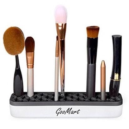 Silicone Makeup Brush Holder Cosmetic Organizer