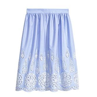 Knee-Length Skirt