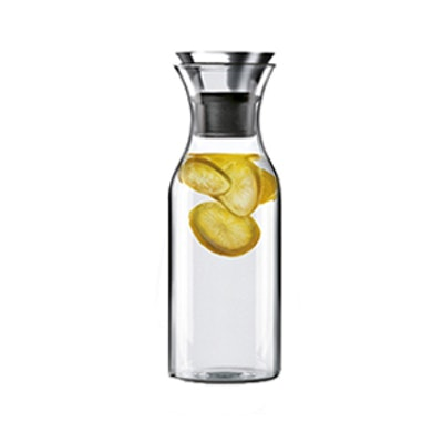 Hiware 35 Oz Glass Drip-free Carafe With Stainless Steel Silicone Flip-Top Lid