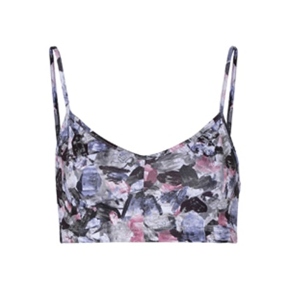 Printed Stretch-Supplex Sports Bra