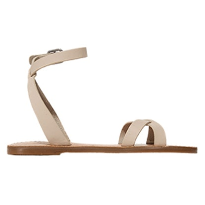 Ankle Wrap Crisscross Sandals