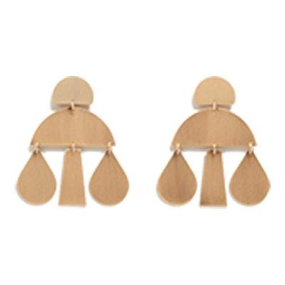 Metal Pendants Earrings