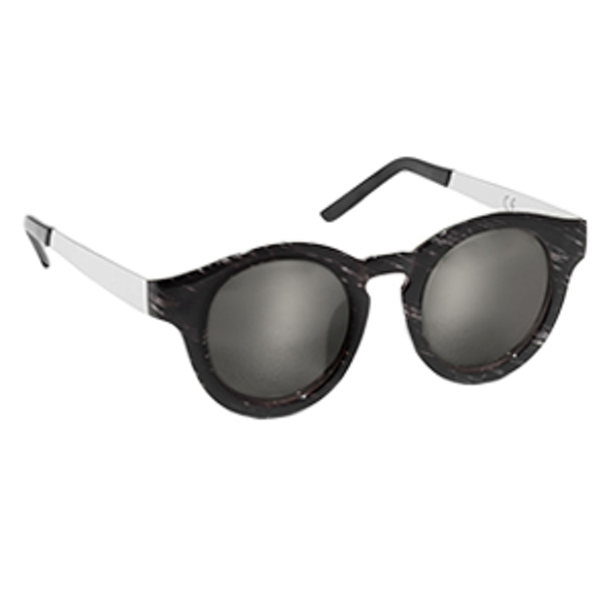 Mirror Round Frame Sunglasses