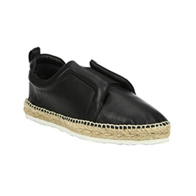 Sliderdrille Leather Espadrille Sneakers