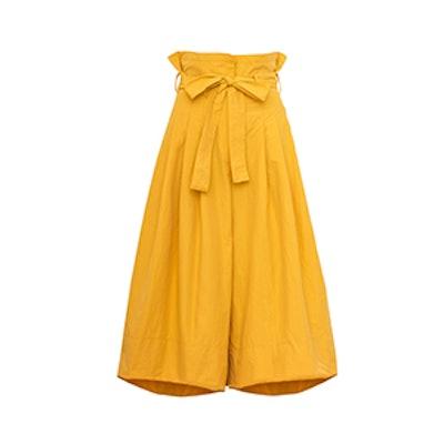 Yellow Mustard High Waisted Culottes